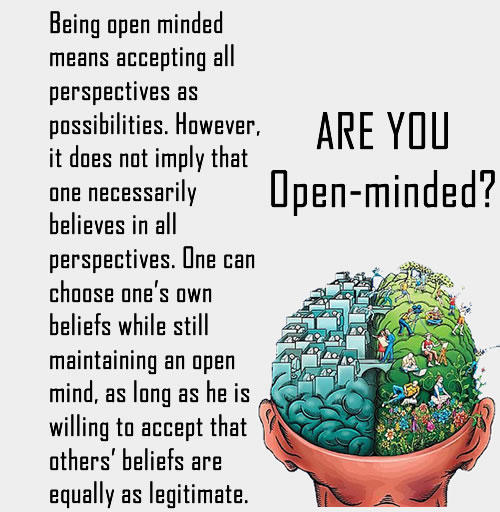 What does open minded mean on dating sites