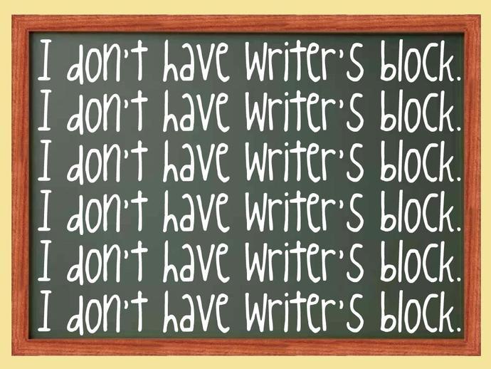 So you wanna write something? Write on!