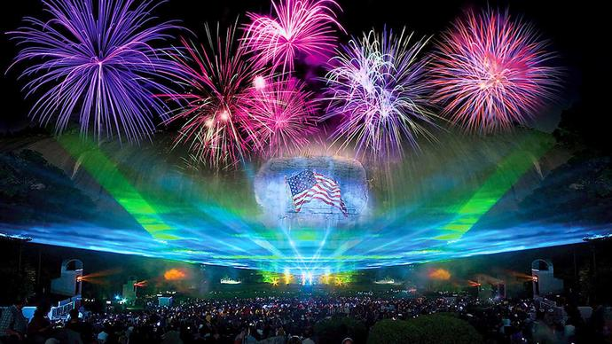 Best places to see 4th of July fireworks.