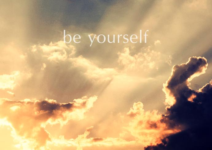 ''Just be yourself'' or ''Be confident'' is not helpful advice.