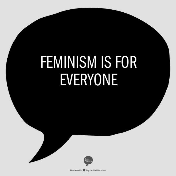 Why I think so many men (and women) have an issue with the word Feminist.