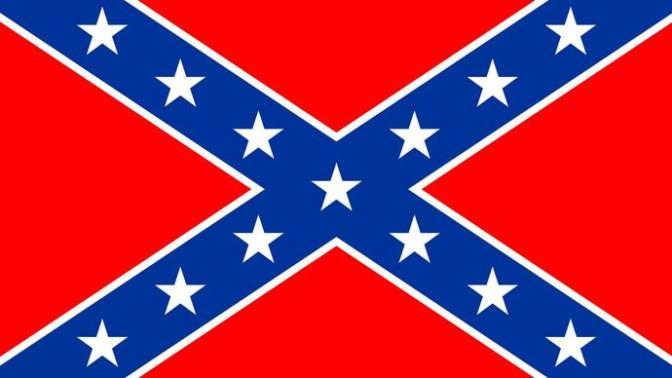 The confederate flag... stupidity abounds..