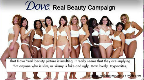 Real woman aren't defined by our bodies!