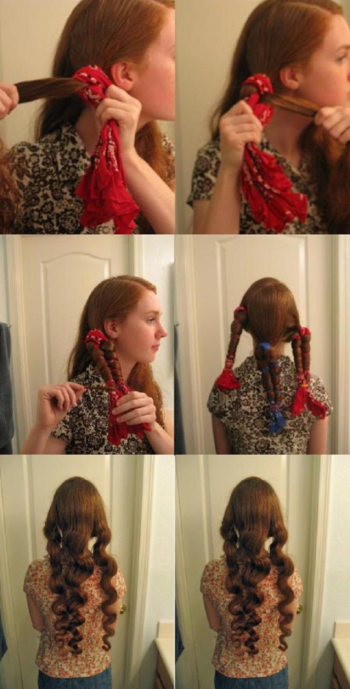 Curl your luscious locks without heat!