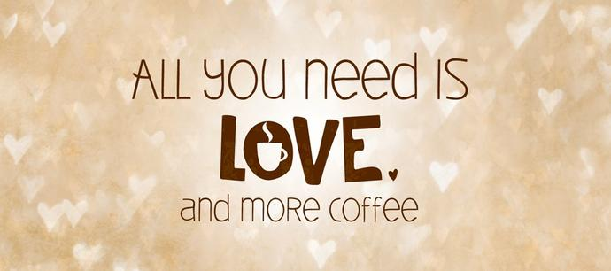 Coffee is great because...