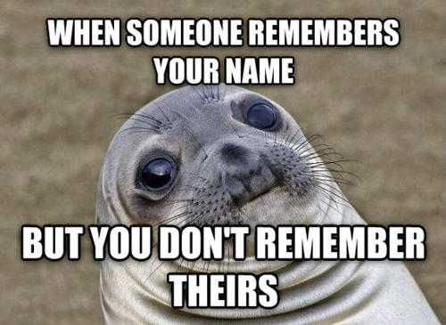 Why It's Important to Remember a Person's Name.