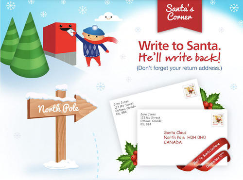 letters to santa in canada interesting facts about canada girlsaskguys 12362