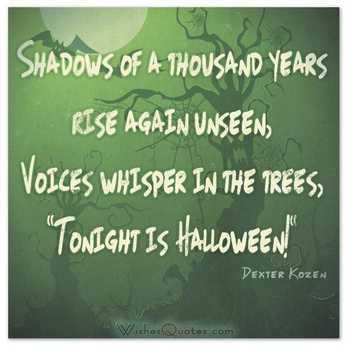 Amusing Halloween Quotes For All