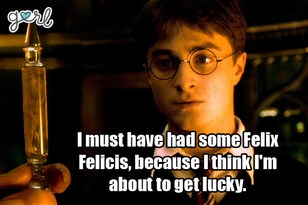 harry potter pick up lines dirty