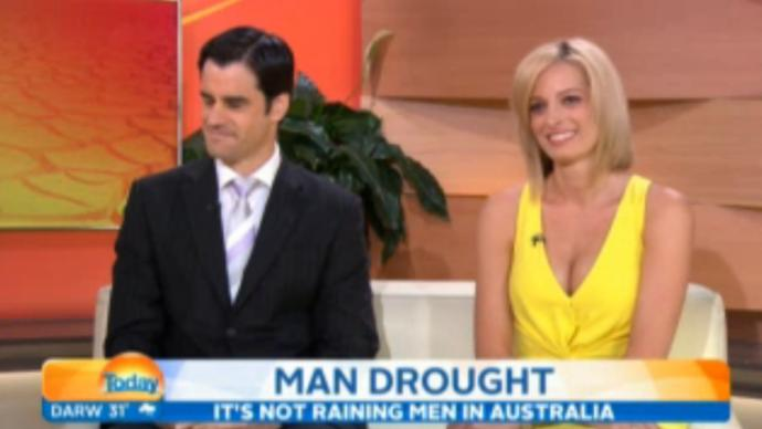 When women complain of a man drought in Sydney, what they really mean is.. there's a WHITE man drought!