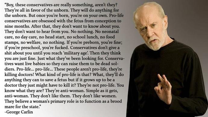 A few Quotes by the Great George Carlin