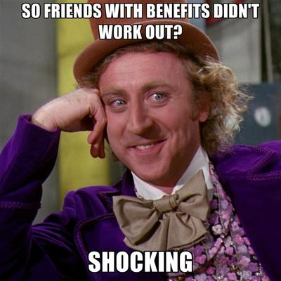 Is friends with benefits bad