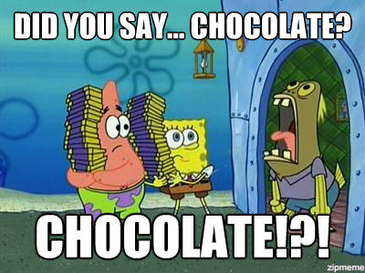 Reasons to have some chocolate!