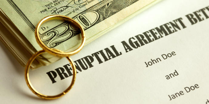 Pre-Nuptial Agreement (Both Financially Independent) - Basic Terms