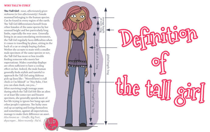 50 Things Tall Girls Say