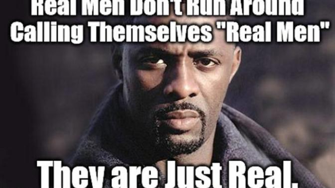 Here's my take: The Real Man