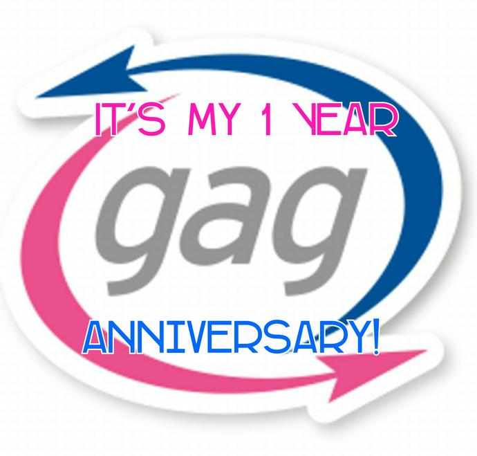 Happy Gagerversary To Me!