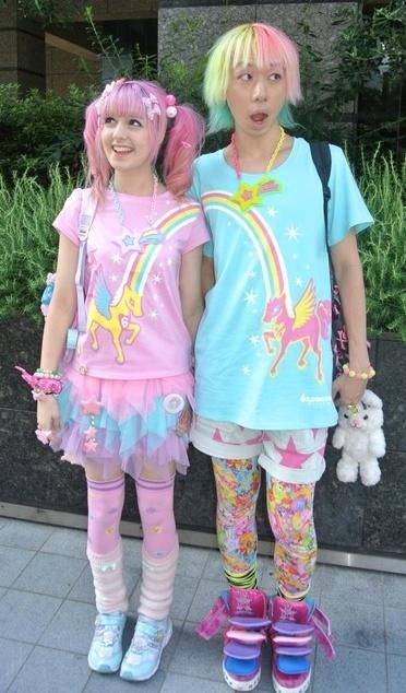Kawaii (cute) Japanese Street Fashion Part 2 of 3 (maybe 4)~