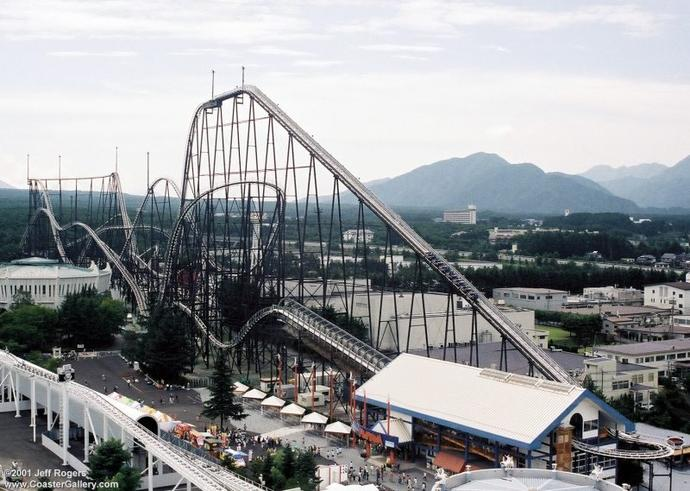 TOP 10: Tallest Roller Coasters in the World