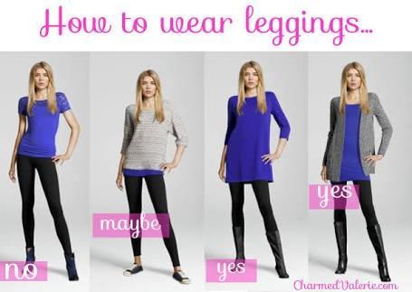 Leggings are not... Pants!!
