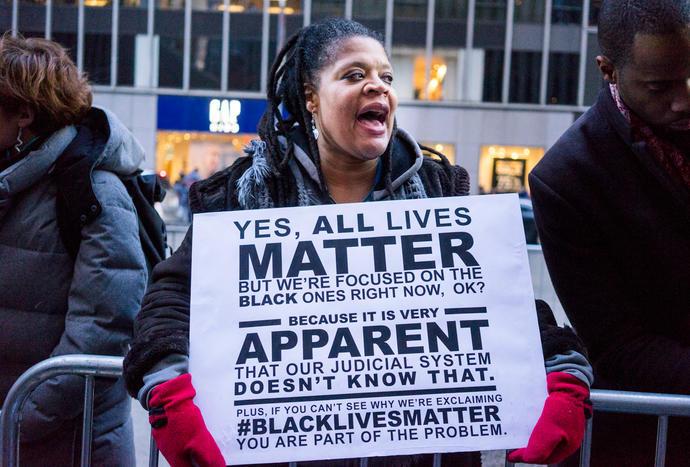 #BlackLivesMatter vs. #AllLivesMatter