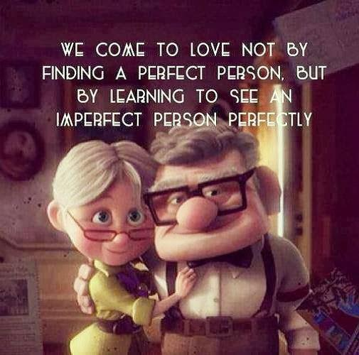 Love: Perfection in Imperfection