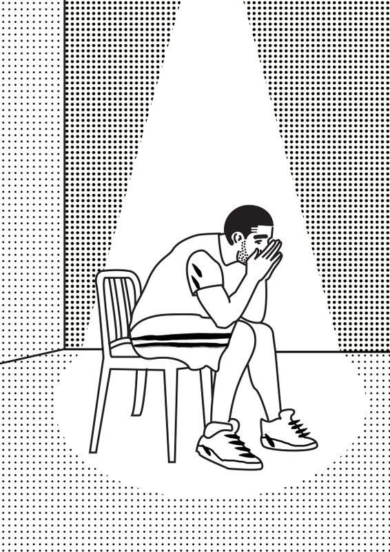 A Drake Coloring Book! Would you color in this?