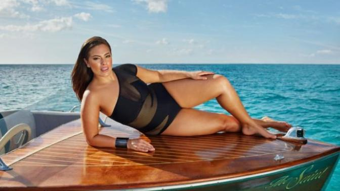Ashley Graham is overweight, and everyone is just afraid to say it!