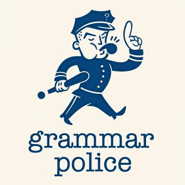 Grammar Police: Waste of Time