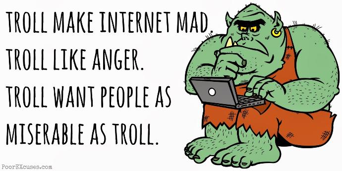 Try Not to Feed The Trolls