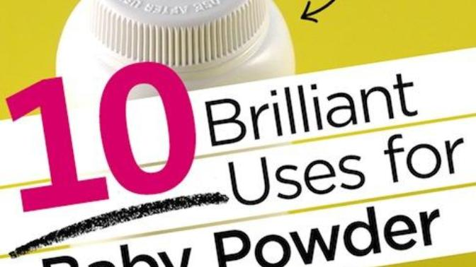 Cool Uses For Baby Powder