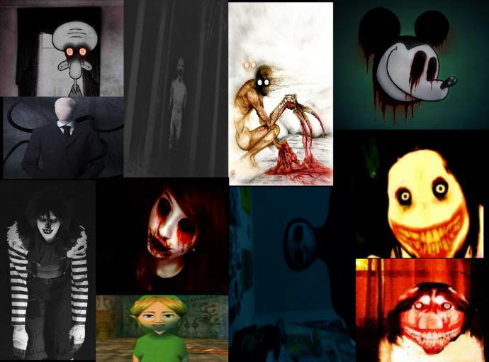 My 10 favorite creepypastas.