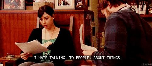 Problems introverts understand as told by Parks and Rec