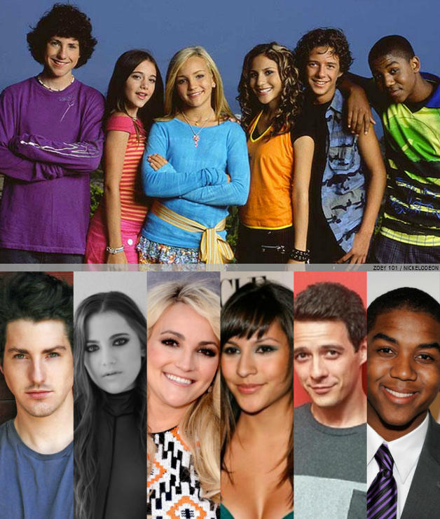 10 Nickelodeon Stars/Casts: Before and After