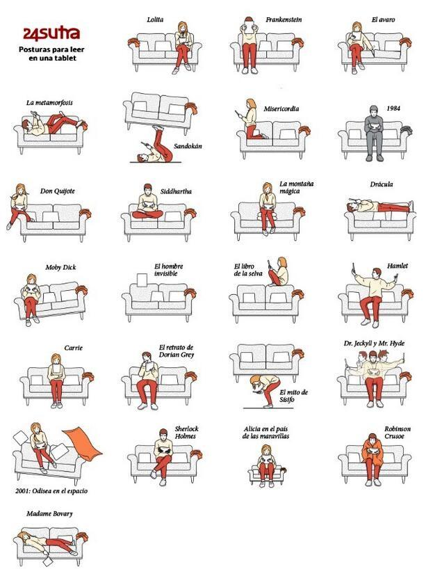 Variations of the missionary position