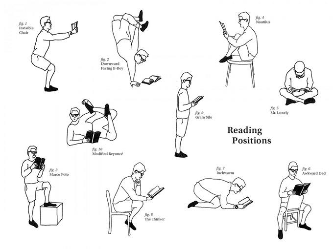 Positions For Reading.