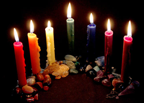 Curiosities about Wiccan candles