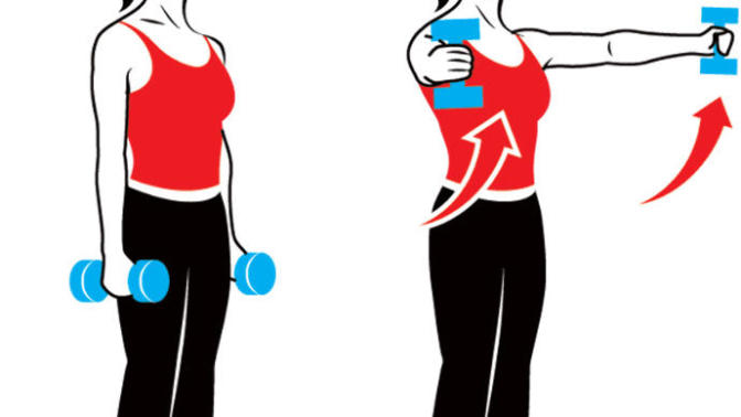 How to Lose Arm Fat: Exercises