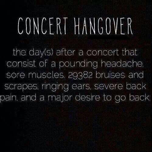 Take Me To  A Rock Concert.
