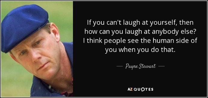 Don't Let The Haters Pin You Down! Laugh at Yourself :)