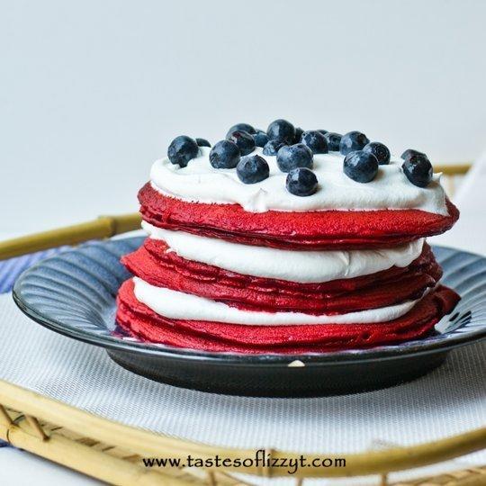 More desert for breakfast! Desert pancakes I didn't show.