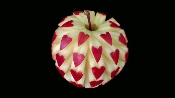 The art of apples!