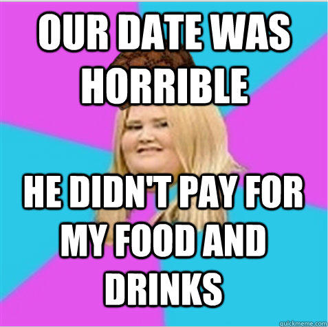 BYOS – Why I Believe Men are NOT Obligated to Pay For Dates