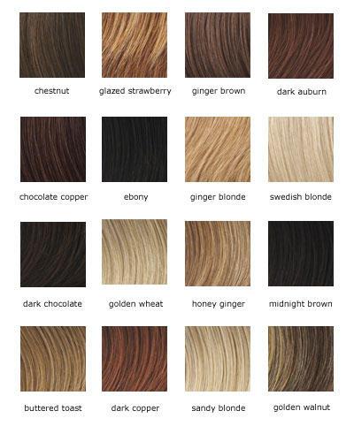 blonde hair, brown hair, orange hair, WHO CARES