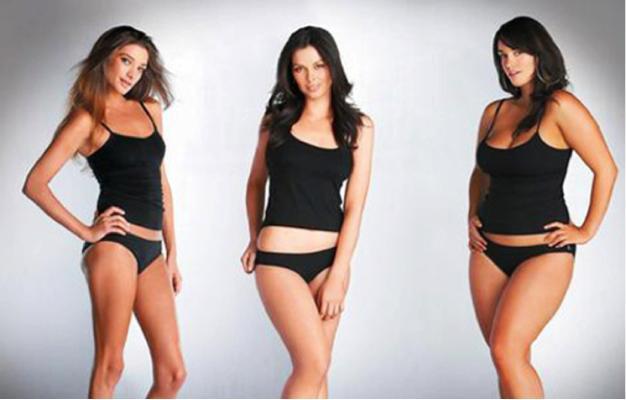5 Beautiful Female Body Types