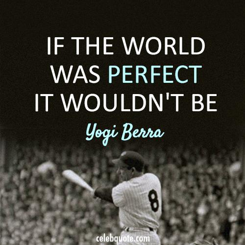 Where A Perfect World Isn't So Perfect