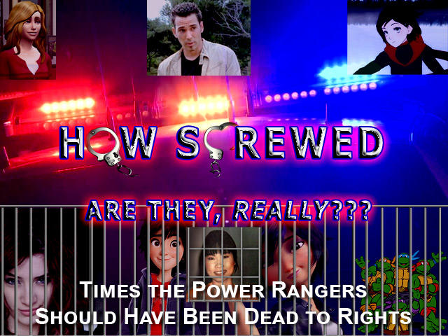 How Screwed Are They, Really? Ep. 4: Times the Power Rangers Should've Been Dead to Rights
