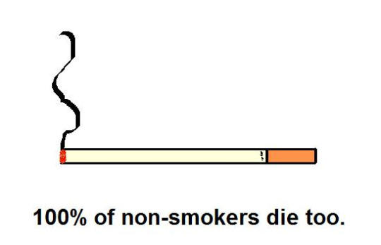 Just Because You Smoke Doesn't Mean You're Gonna Die