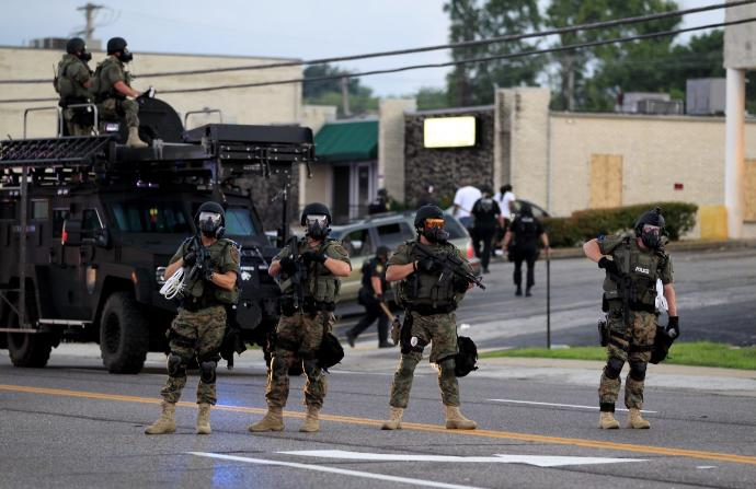 Major Change Never Happens Without Violent Action
