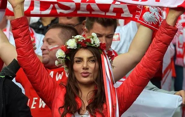 Most Beautiful Faces From EURO 2016 Football Championship